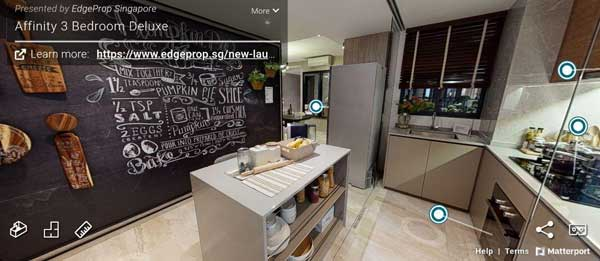 affinity at serangoon 3 bedroom deluxe virtual tour