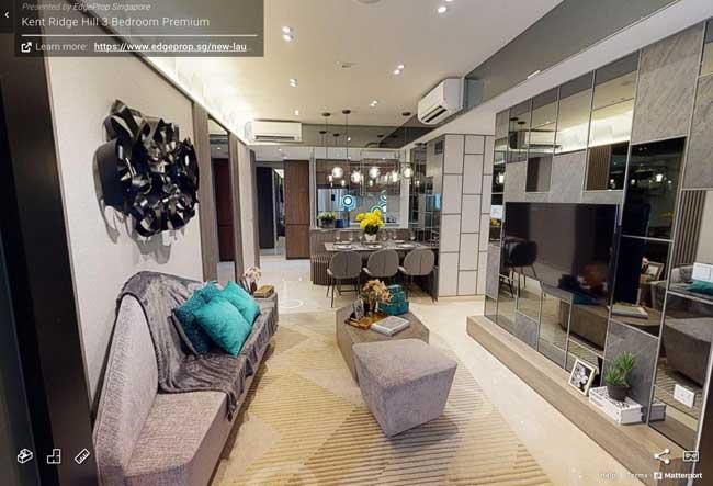 Kent Ridge Hill Residences 3 bedroom premium virtual tour