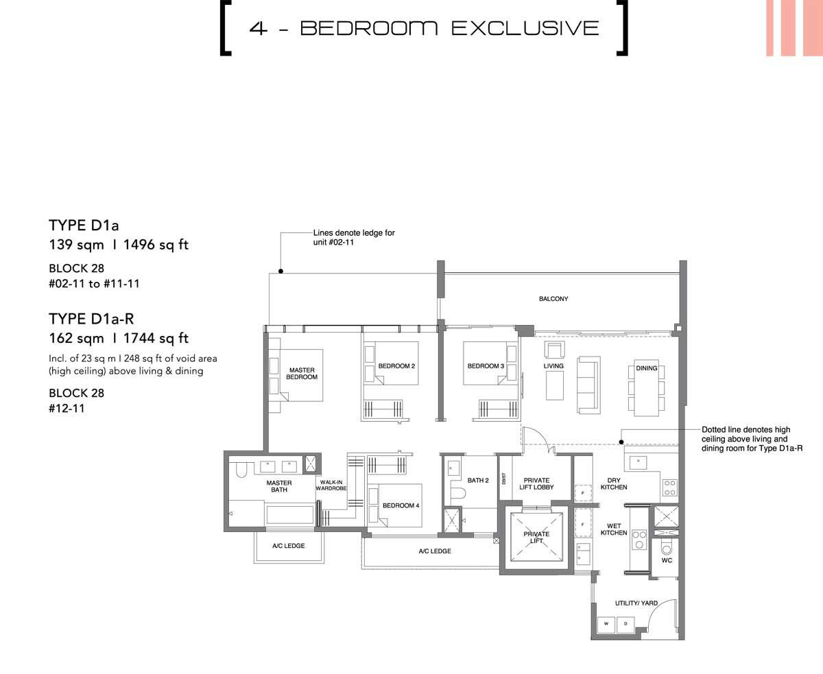 leedon green 4 bedroom exclusive