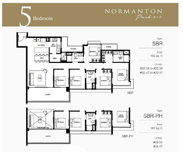 normanton floor plan 5BR