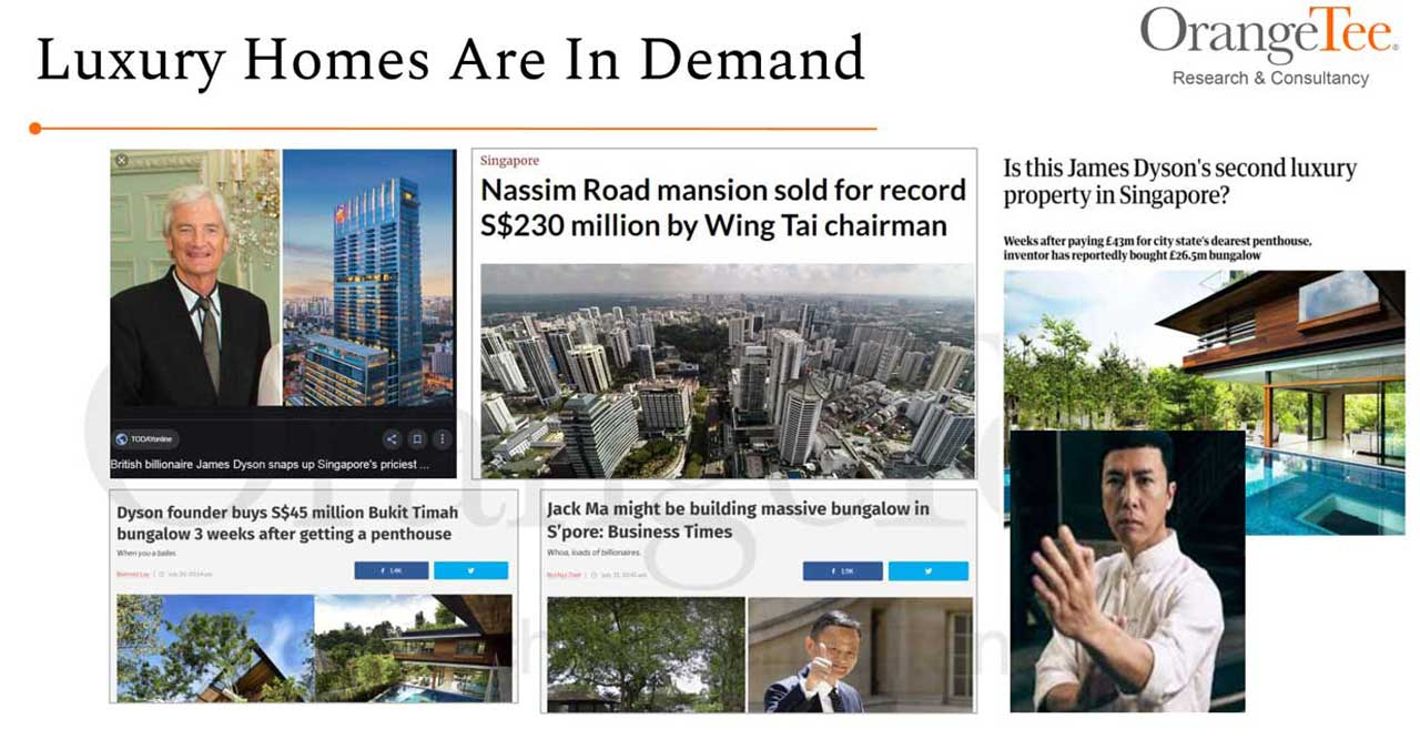 luxury homes are in demand by foreigners