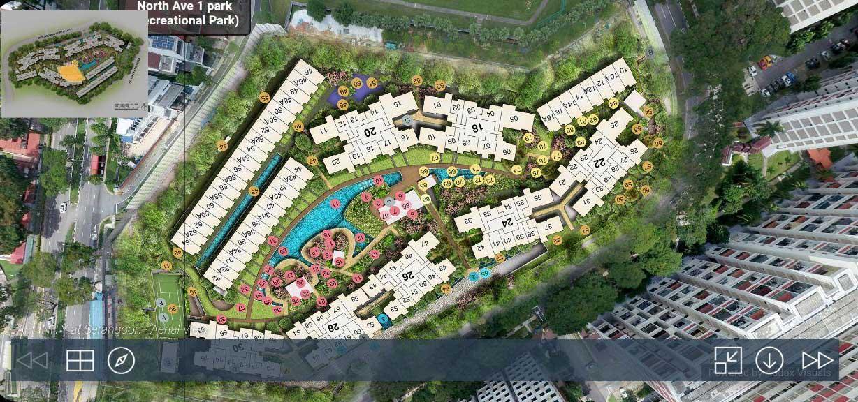 affinity at serangoon drone view
