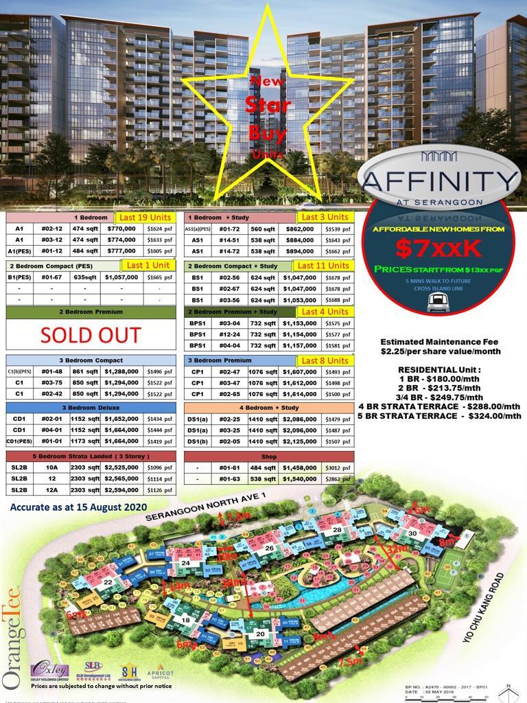affinity at Serangoon star buys
