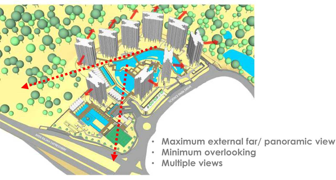 normanton park site layout