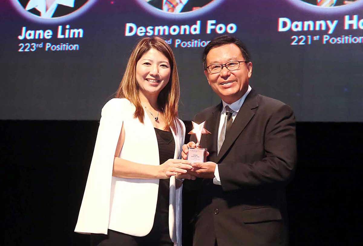 danny han top producer award