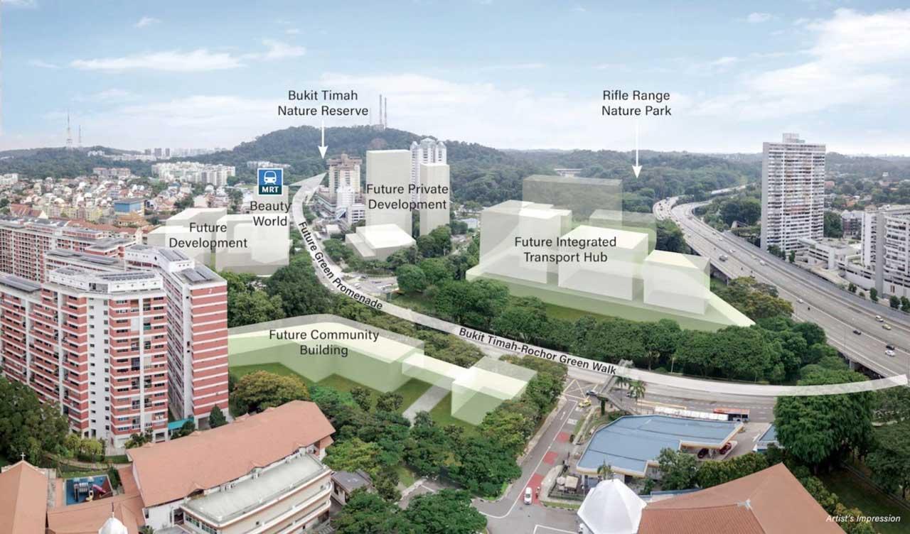 beauty world integrated transport hub