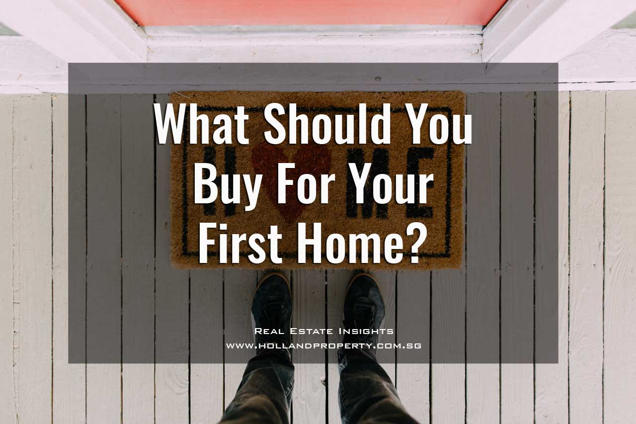 what should you buy for your first home?