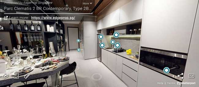 parc clementis 2 bedroom virtual tour
