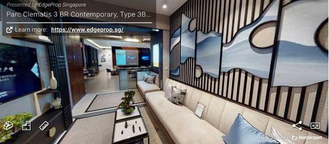 parc clementis 3 bedroom virtual tour