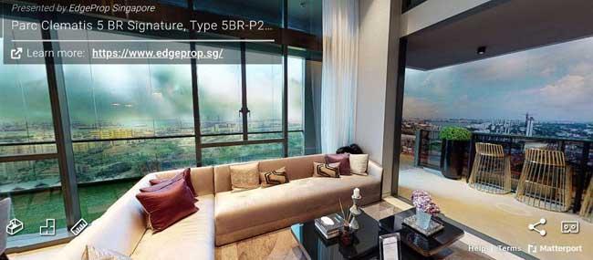 parc clematis 5 bedroom virtual tour