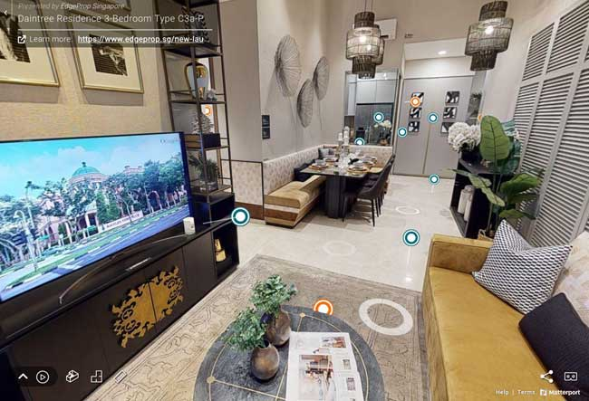 daintree residence 3 bedroom virtual tour