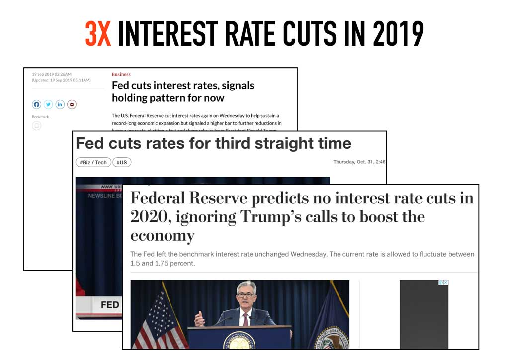 fed cut interest rates