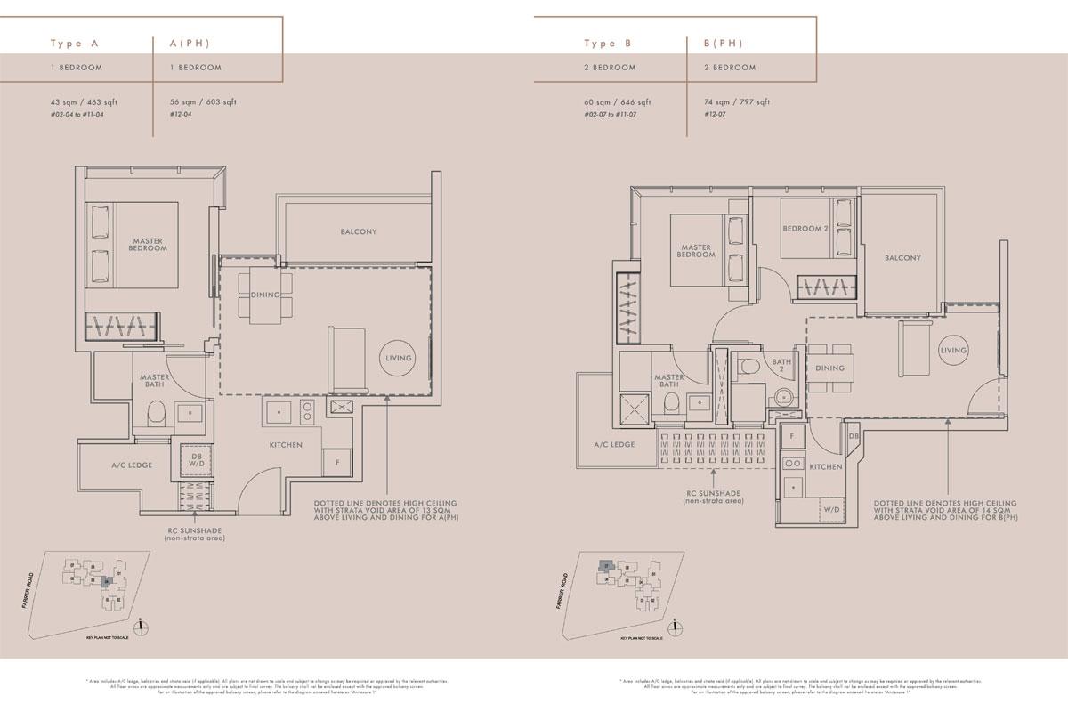 wilshire residences floor plans