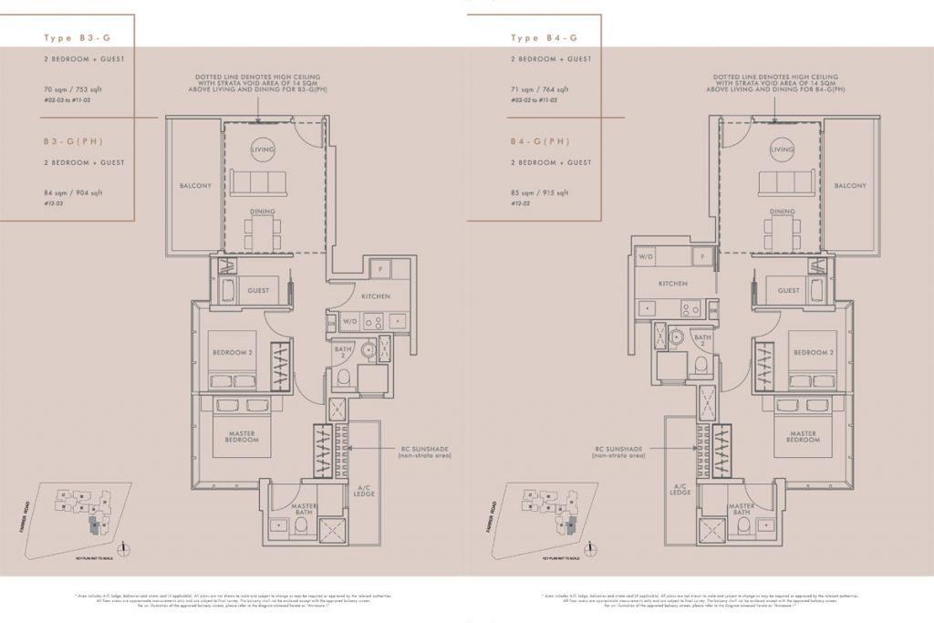 wilshire residences floor plan