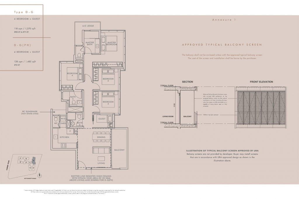 wilshire residences floor plan