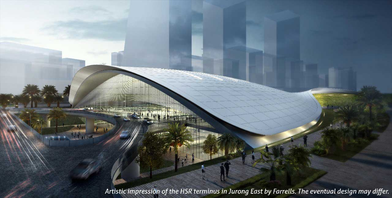 high speed rail terminal