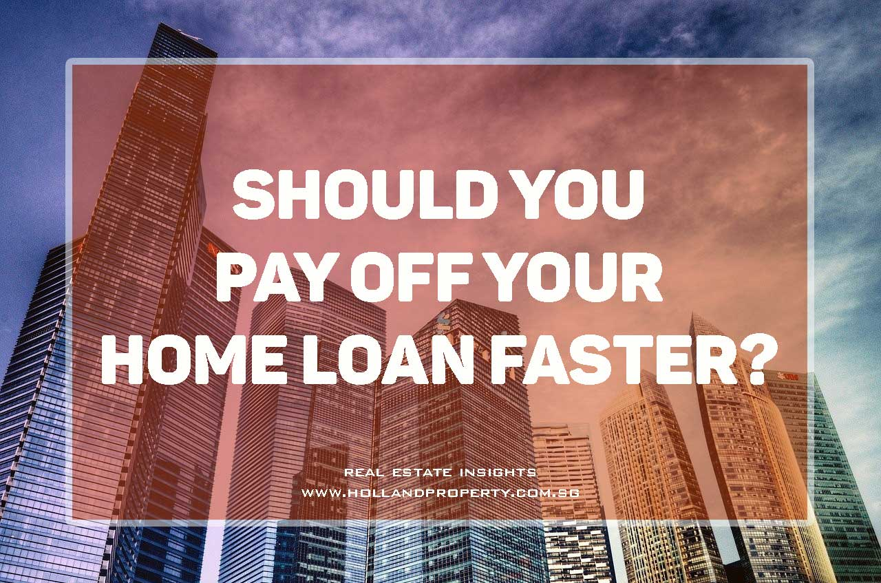 should you pay off your home loan faster?