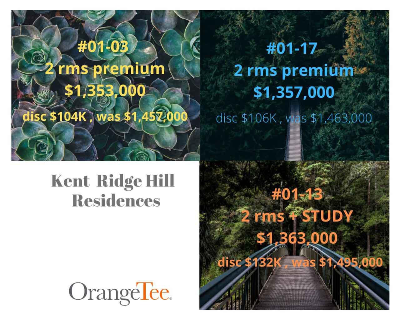 kent ridge hill residences discounts