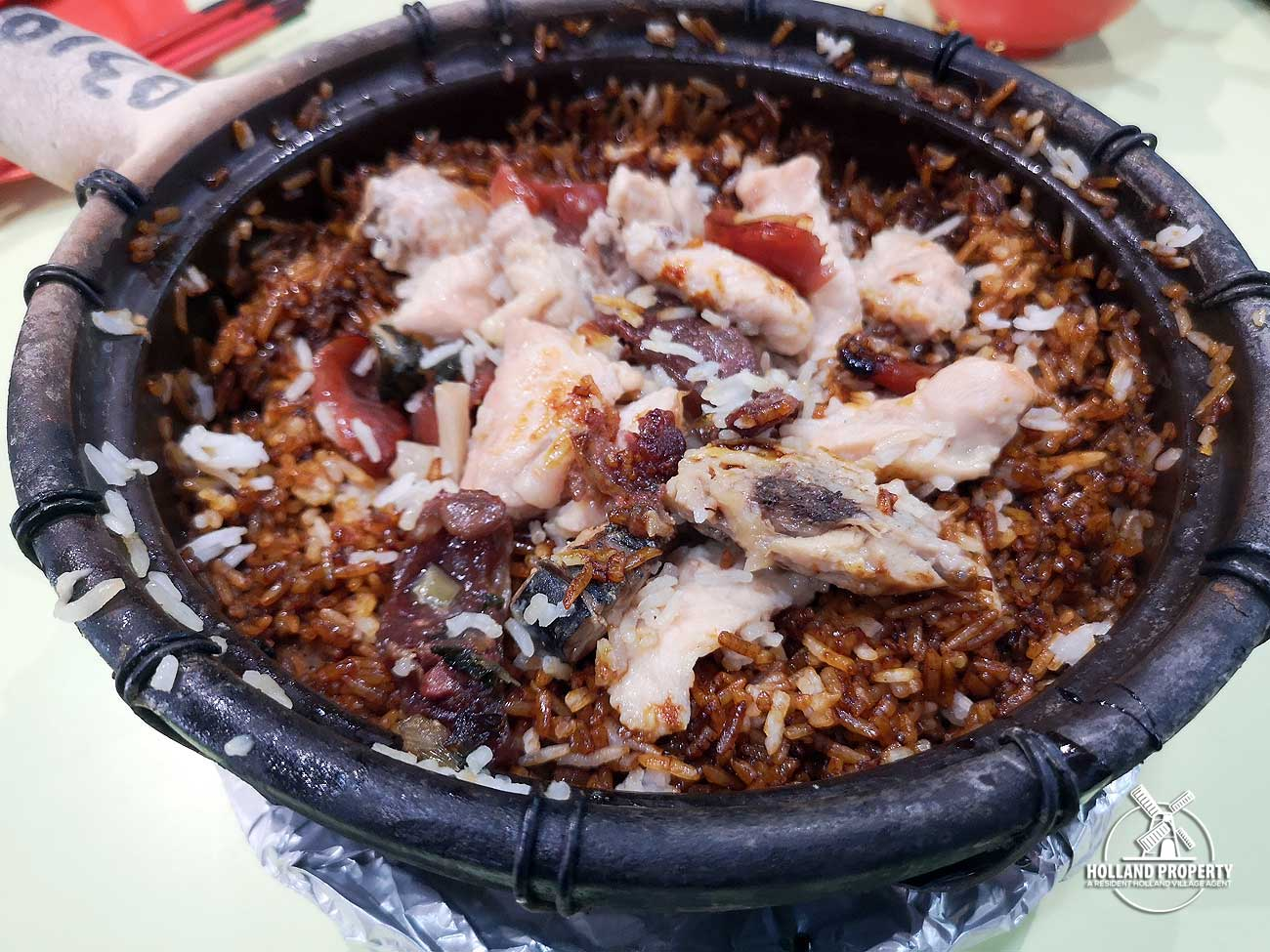 new lucky claypot rice michelin