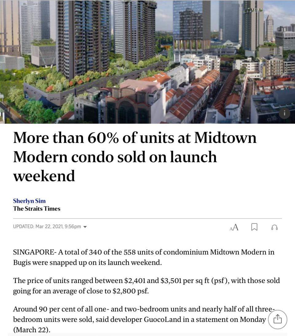 midtown modern sales