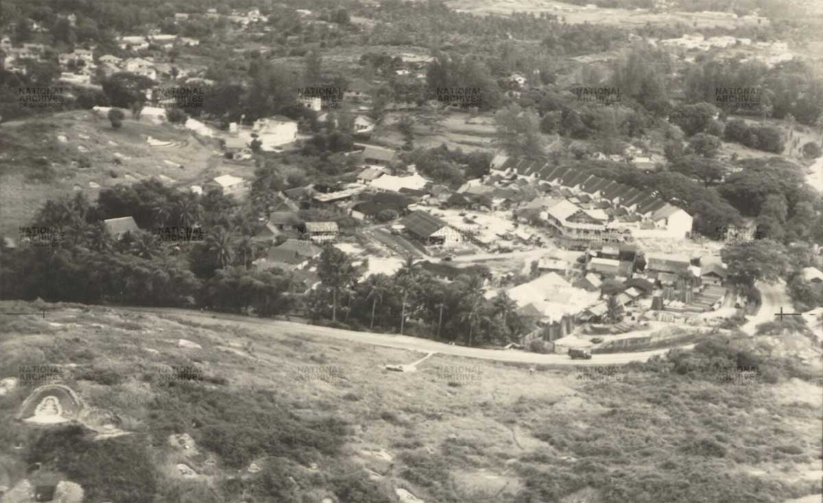 aerial photo of old holland village