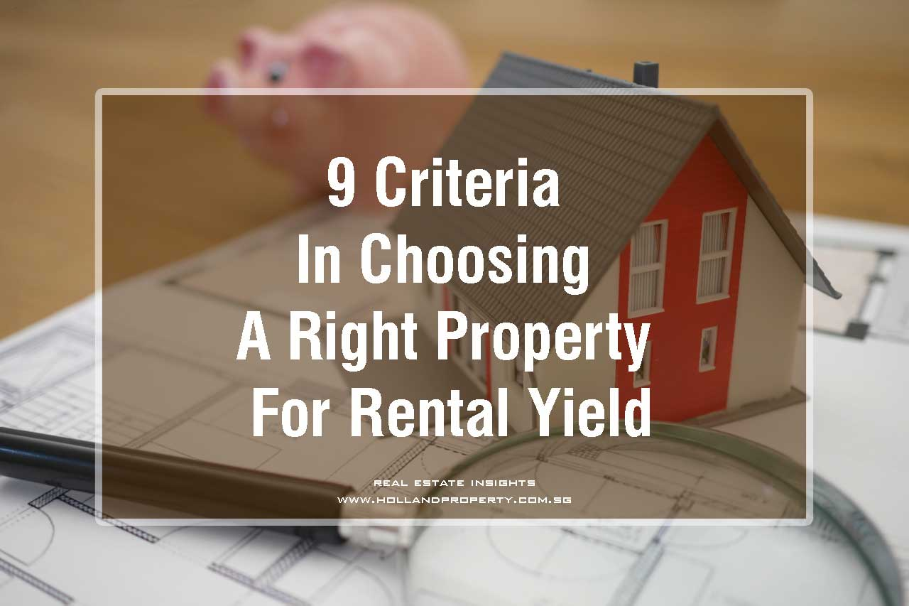 choosing the right property for rental yields