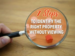 identify the right property without viewing