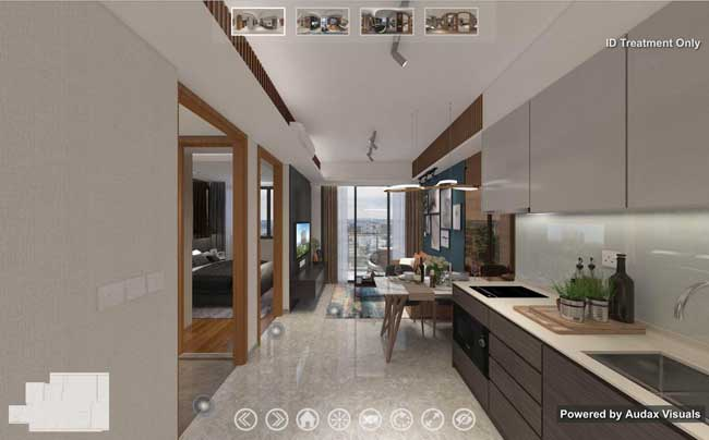 Stirling Residence 1 bedroom plus study virtual tour