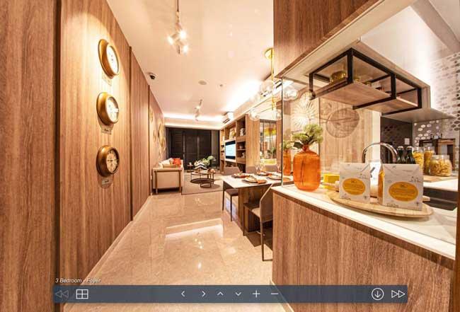 stirling residence 3 bedroom virtual tour