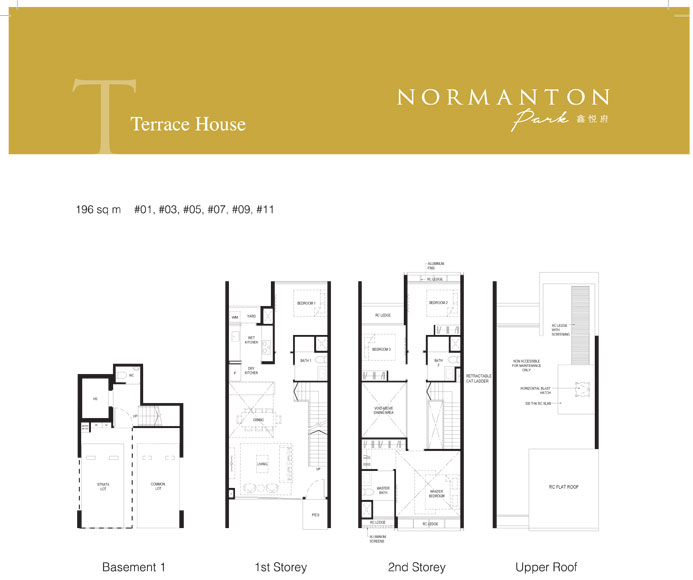 normanton park floor plan terrace