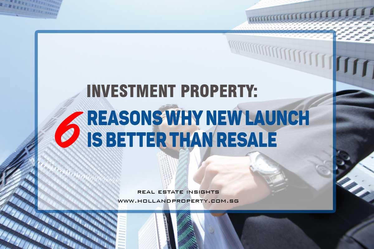 resale vs new launch