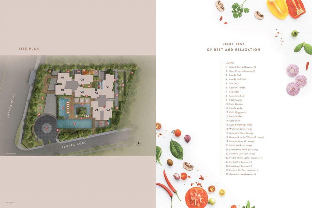 wilshire residences site plan