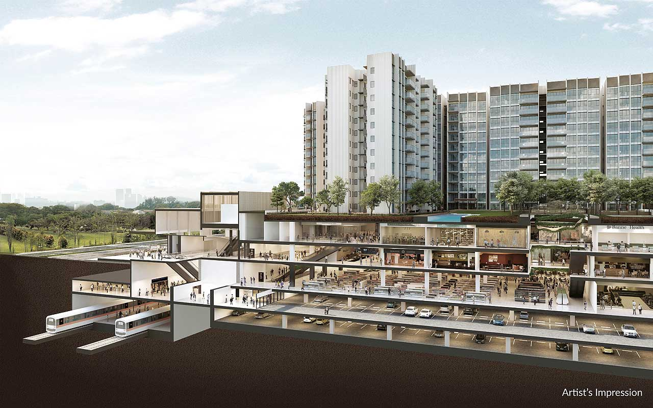 woodleigh residences integrated development