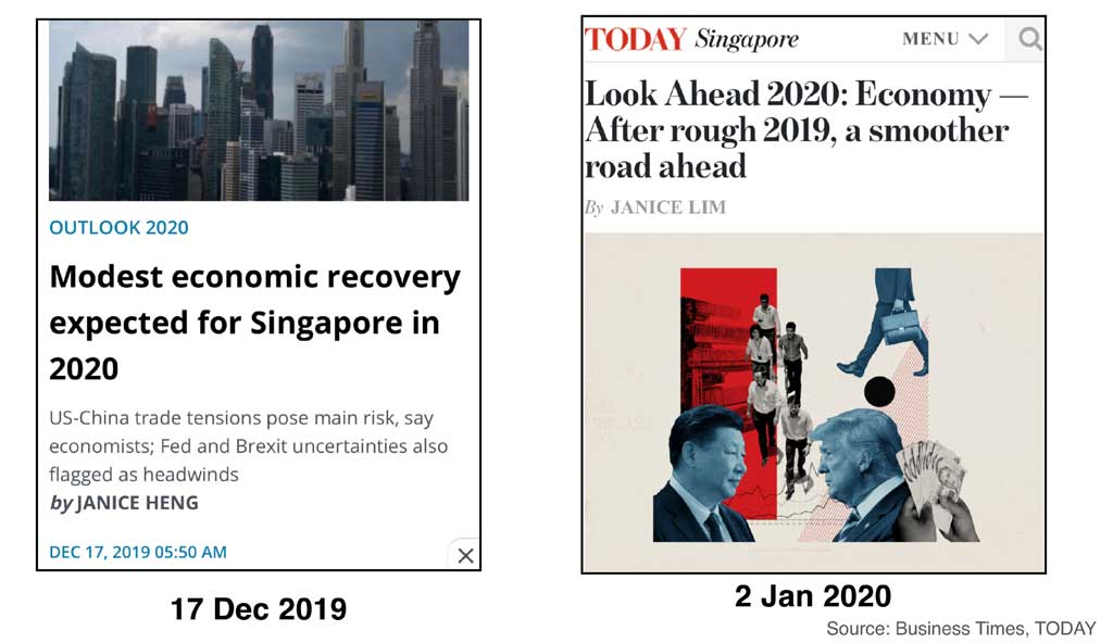 worst is over for singapore